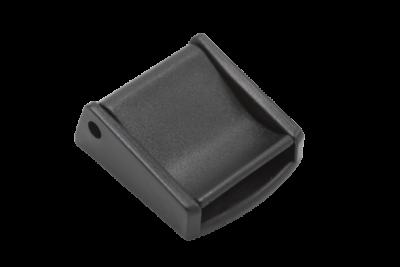 Båndlås 20 mm plast sort