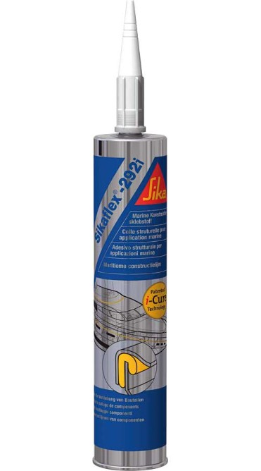 Lim, Sikaflex 292i, 300 ml, hvit