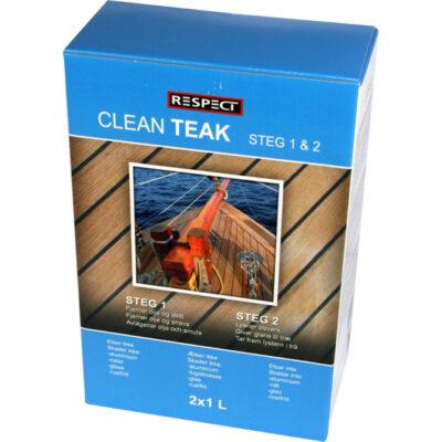 Clean Teak 2×1 l – Respect