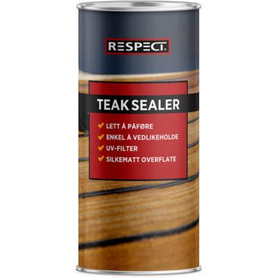 Teak Sealer olje 0,5 l – Respect