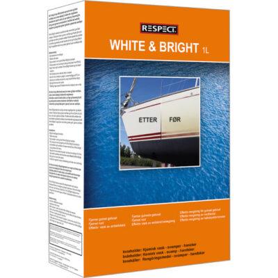 Skrogvask White & Bright kit – Respect