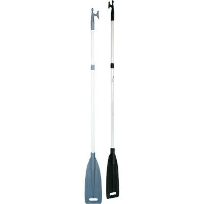 Båtshake m/padleåre, teleskopisk 156-231 cm