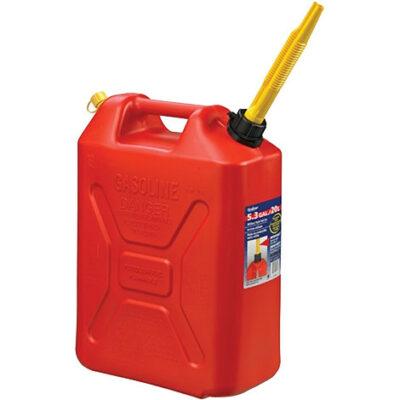 Bensinkanne, 20 ltr, gul (diesel) – Scepter