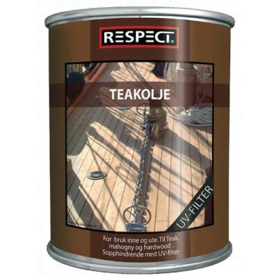 Teak Oil, 0,5 l – Respect