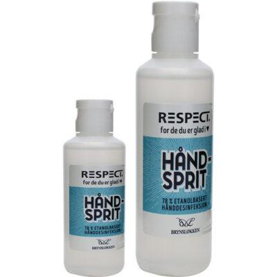 Håndsprit – desinfeksjon 1 liter – Respect